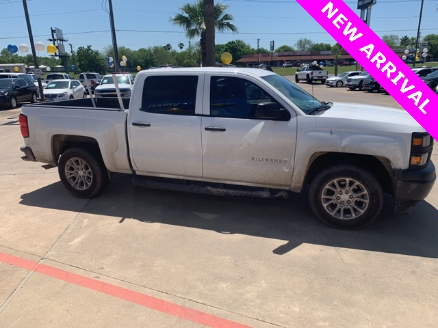 Pre Owned 2015 Chevrolet Silverado 1500 Wt 4d Crew Cab In Port